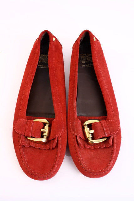 Burberry driving loafers
