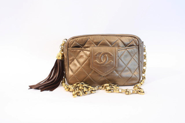 Vintage Chanel Bronze Bag