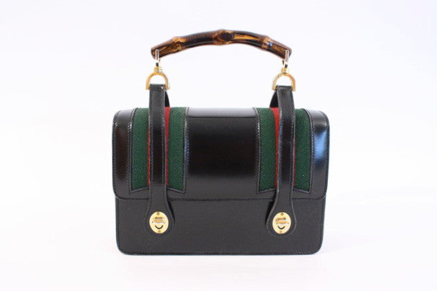 Vintage 60's Gucci Bag Bamboo