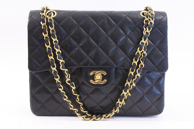 Vintage Chanel Large Double Flap Bag
