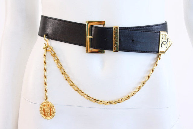 Vintage Chanel Belt Chain