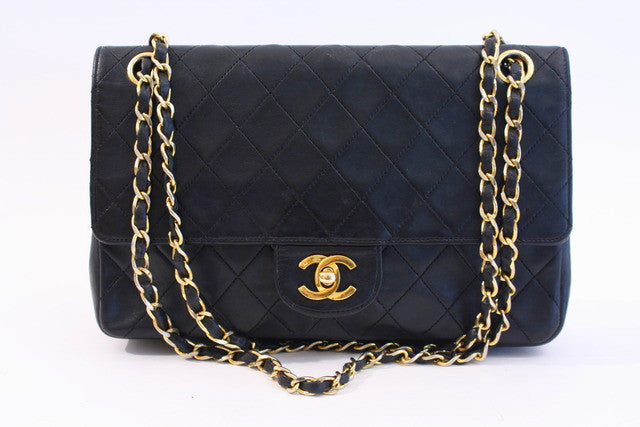Vintage Chanel Double Flap Bag