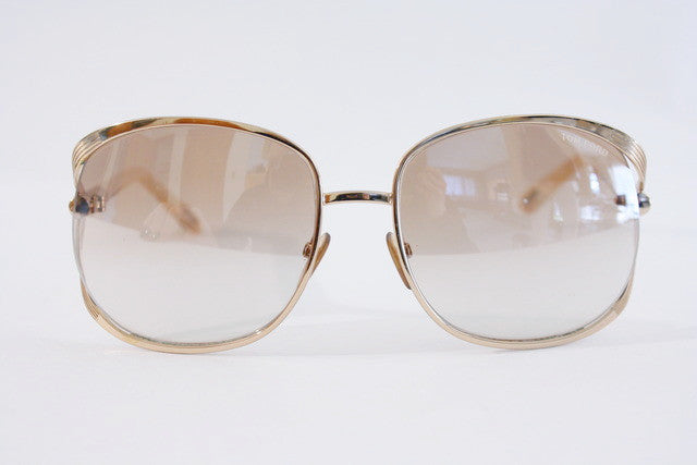 Tom Ford Gold Sunglasses