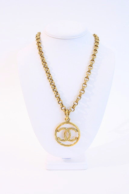 Vintage Chanel Medallion Necklace