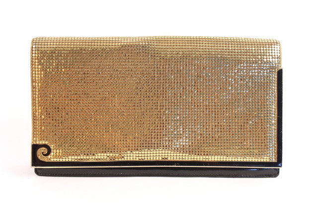 Vintage Pierre Cardin Gold Chain Bag