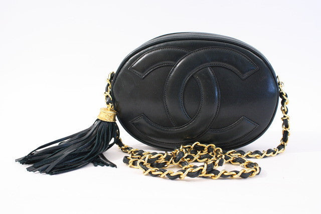 Vintage Chanel Oval Bag