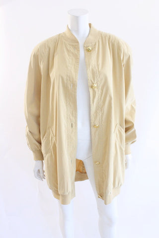 Vintage ESCADA Silk Bomber Jacket