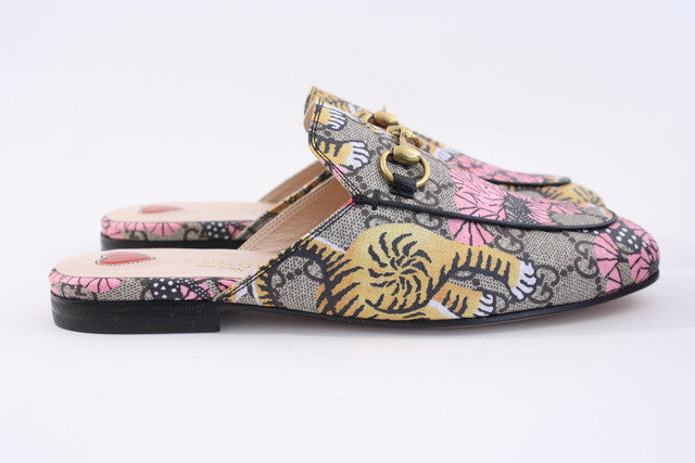 125f22fe174 New GUCCI Bengal Princetown Loafers at Rice and Beans Vintage