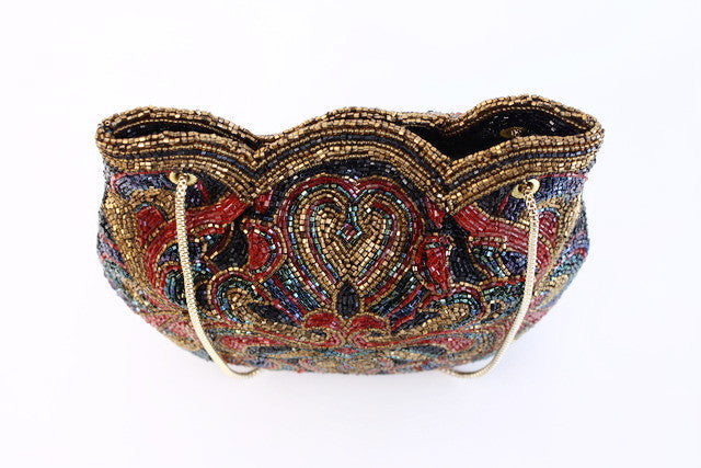 vintage walborg beaded purses