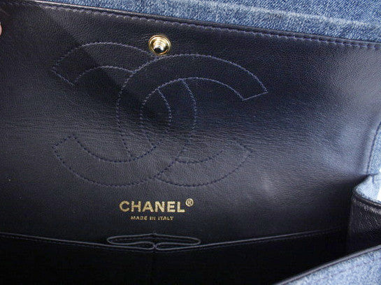 3b521c414bf7 CHANEL 2.55 Reissue Denim Double Flap Bag at Rice and Beans Vintage