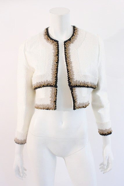 Vintage Mary McFadden Couture Jacket