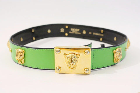 Vintage ESCADA Panther Belt