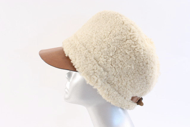 Vintage Shearling Fur Hat