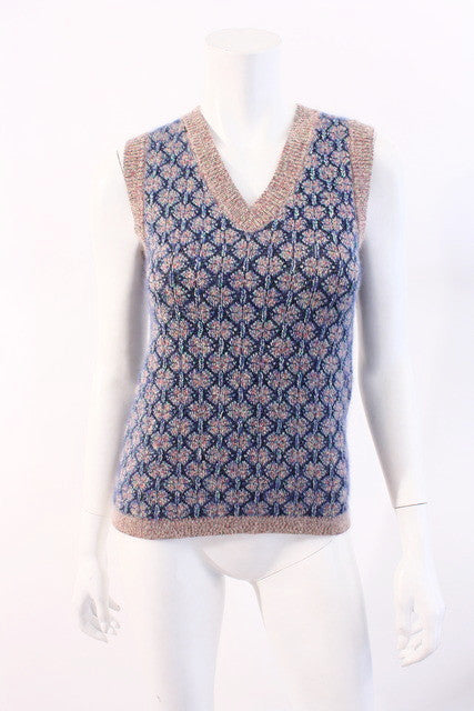 Chanel Braisserie Sweater Vest