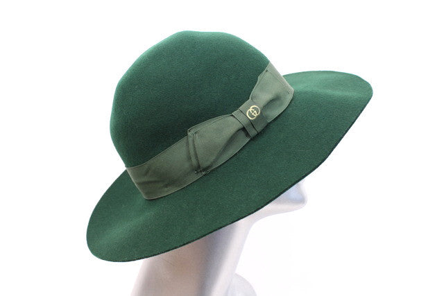 Vintage 70 s GUCCI Green Hat at Rice and Beans Vintage 4698b0eabee
