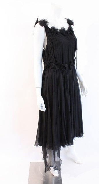 Vintage Chanel Black Dress