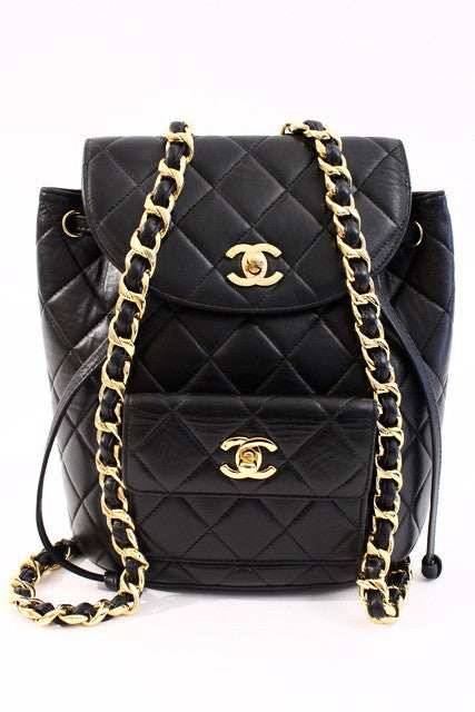 Vintage Chanel Iconic Backpack