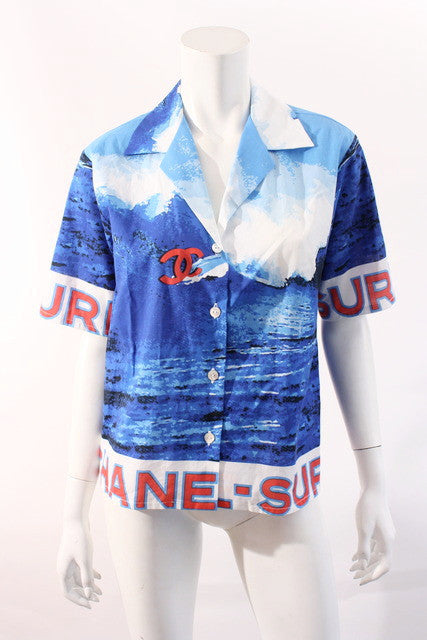Vintage Chanel Surf Wave Shirt