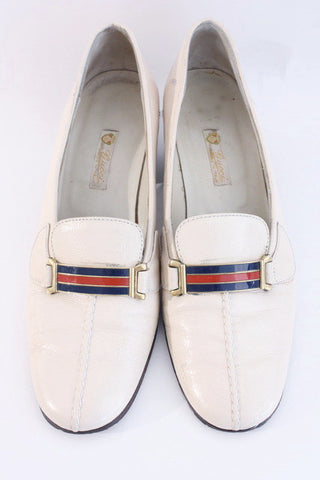 Vintage 70's GUCCI Heeled Loafers