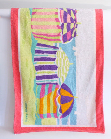 Hermes Beach Towel
