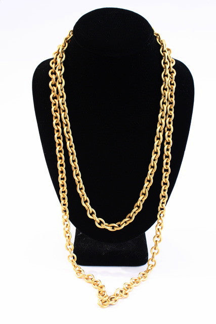 Set of Vintage Anne Klein Chain Necklaces
