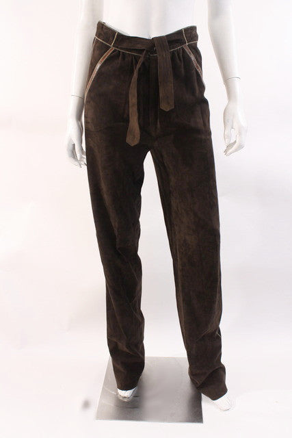 Vintage 70's Roberto Cavalli Leather Pants