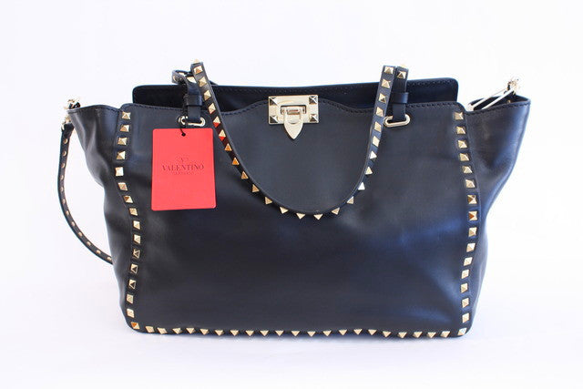 Valentino The Rockstud Medium Trapeze Bag
