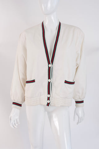 Vintage 80's GUCCI Cardigan Sweater