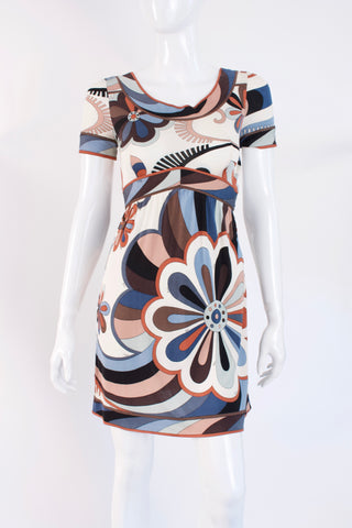 Vintage 60's EMILIO PUCCI Silk Mini Dress