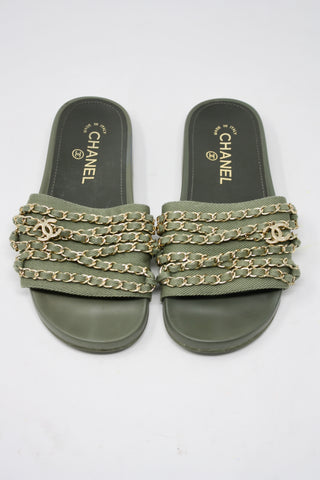 CHANEL 2017 Cuba Collection Sandals