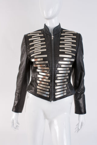 Vintage JEAN-CLAUDE JITOIS Leather Jacket