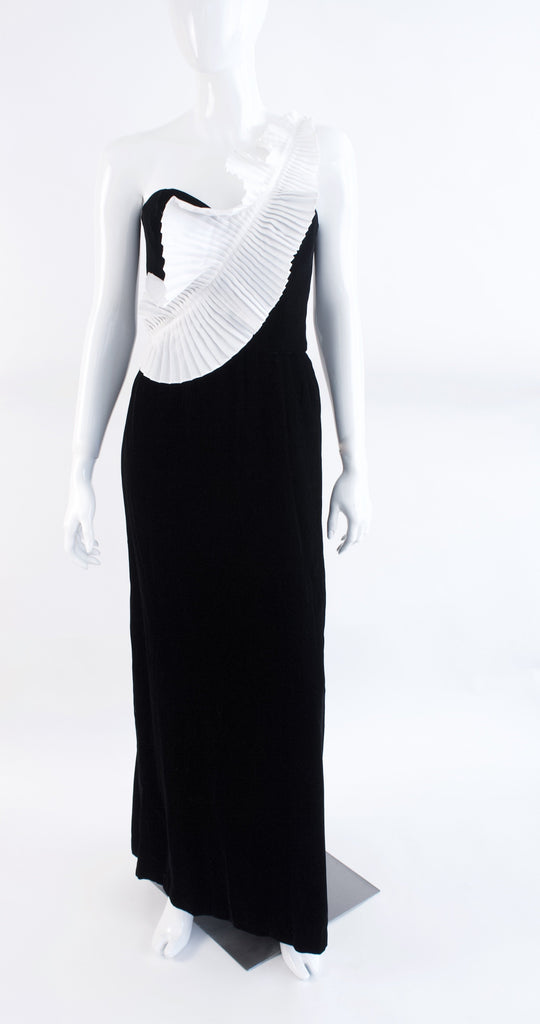Vintage 70's VICTOR COSTA Gown