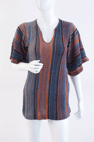 Vintage 70's Knit Tunic Top