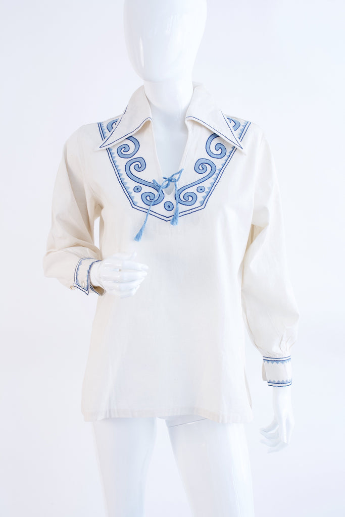 Vintage 70's JOSEFA Embroidered Blouse
