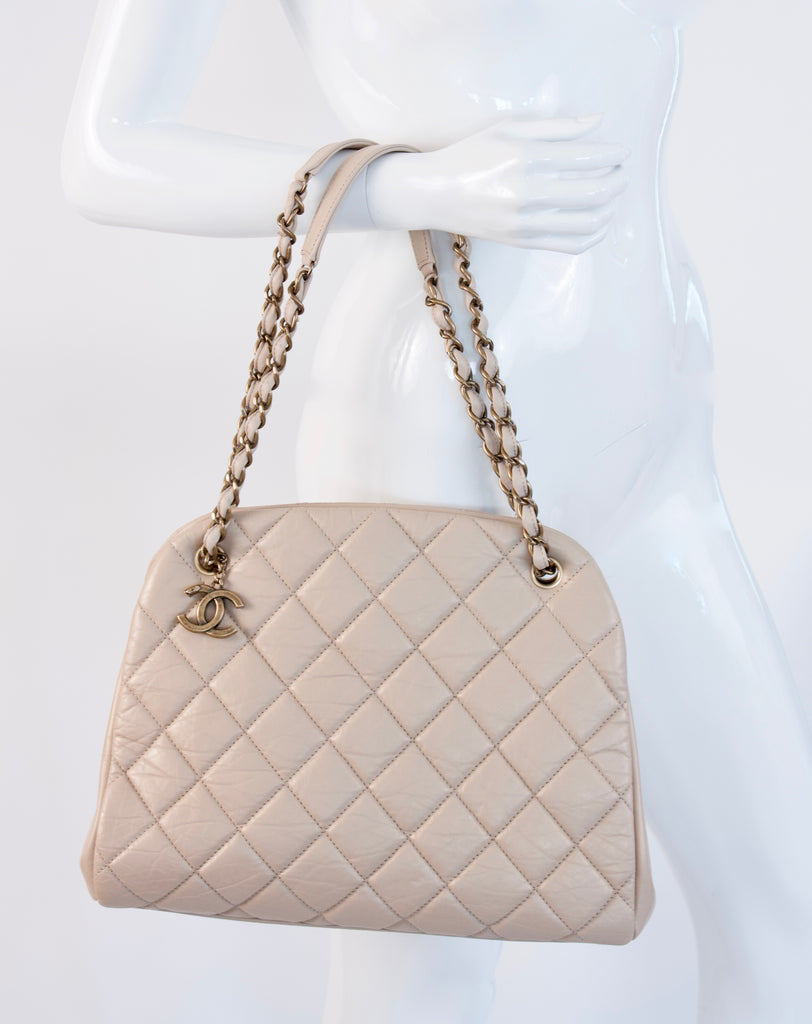 Fall 2012 CHANEL Large Just Mademoiselle Bowler Bag