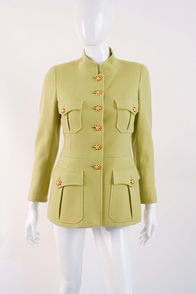 Rare Vintage CHANEL Jacket With Gripoix Buttons