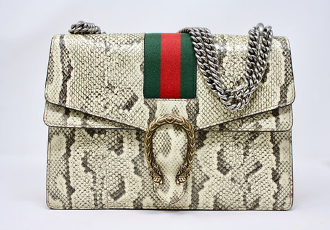 Rare GUCCI Python Dionysus Bag  ON LAYAWAY