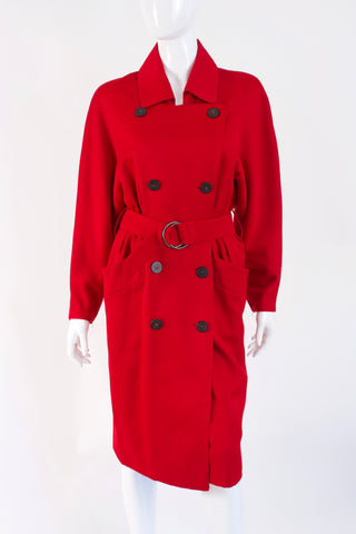 Rare Vintage 80's HERMES Trench Coat Dress