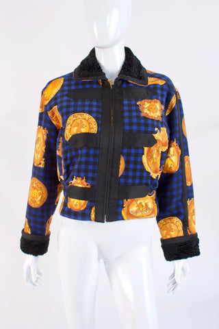 Vintage GIANNI VERSACE Jacket  ON LAYAWAY