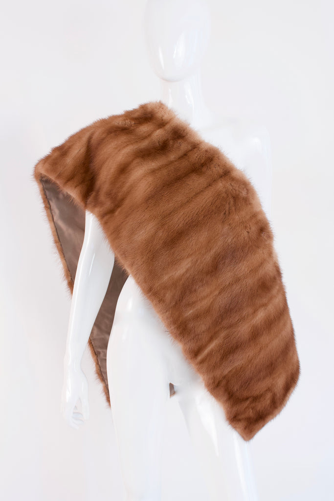 Vintage 60's Mink Fur Wrap or Shawl