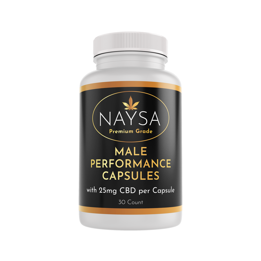 Male Performance Capsules with CBD