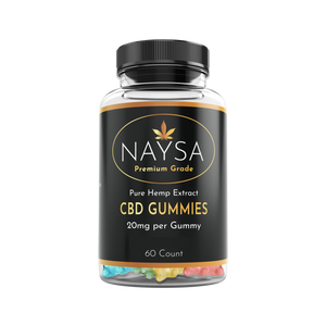 CBD Gummies - 60 count bottle