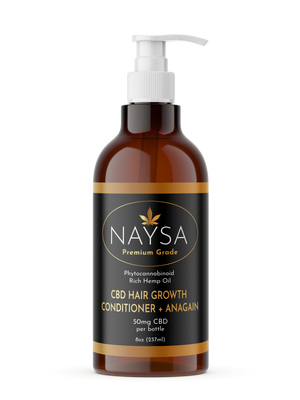 CBD Hair Growth Conditioner + Anagain