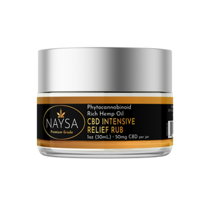 CBD Intensive Relief Rub
