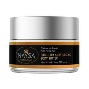 CBD Ultra Moisturizing Body Butter
