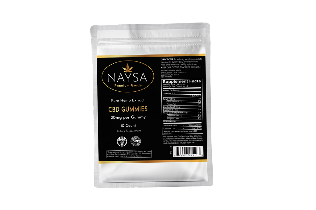 CBD Gummies - 10 count pouch