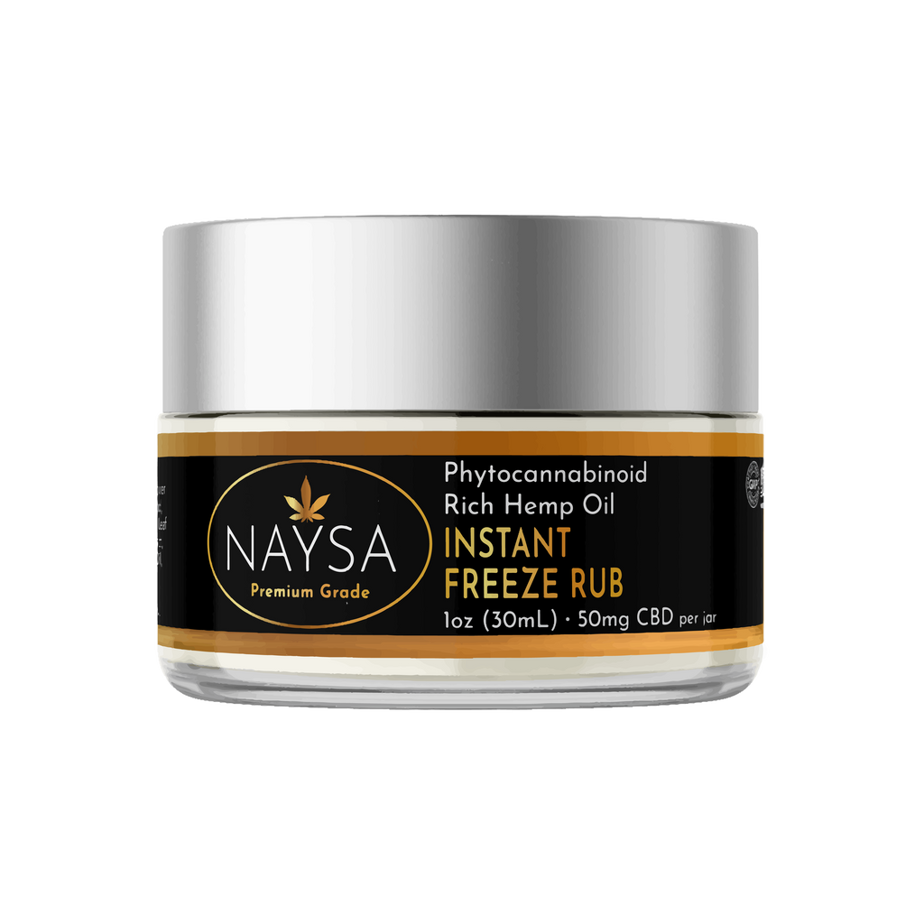 CBD Instant Freeze Rub