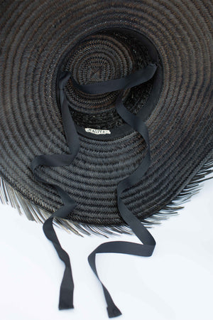 Tauta Frayed Summer Hat