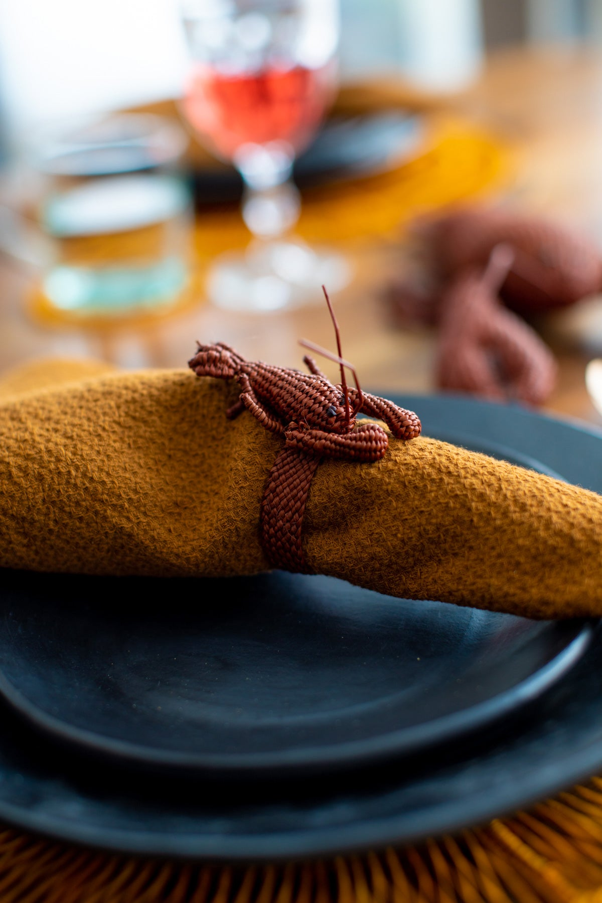 Napkin Ring Lobster (Set of 6)