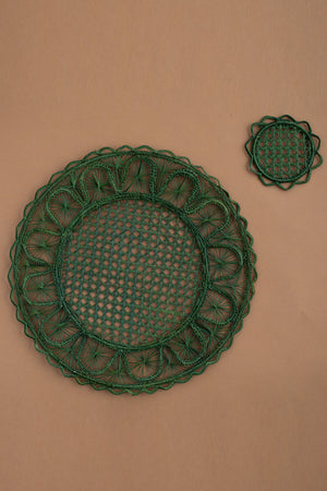 6 Table sets & Glass Coasters Alma